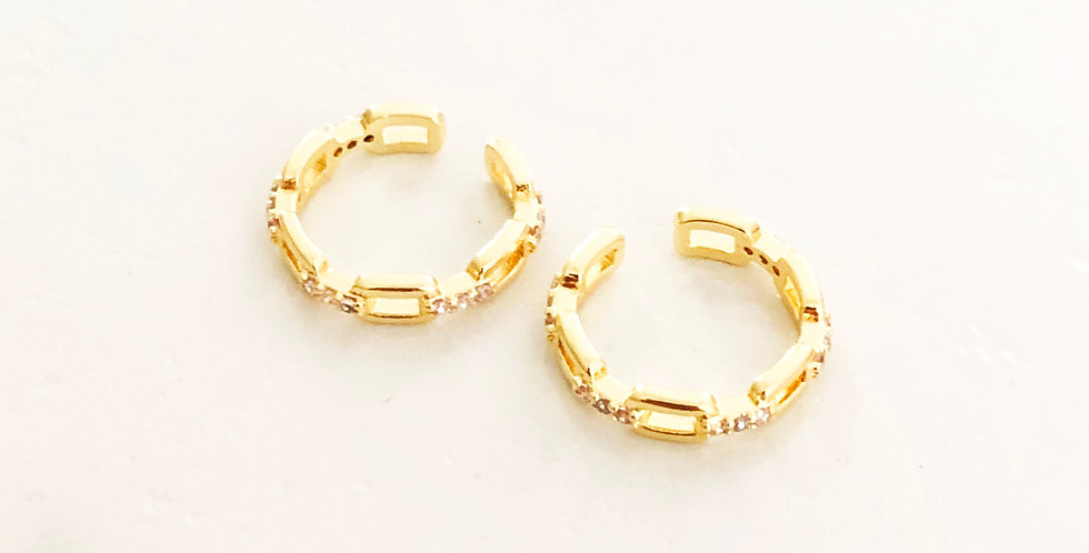 Mini Links Cuff Earring (ONLY 1 CUFF EARRING)