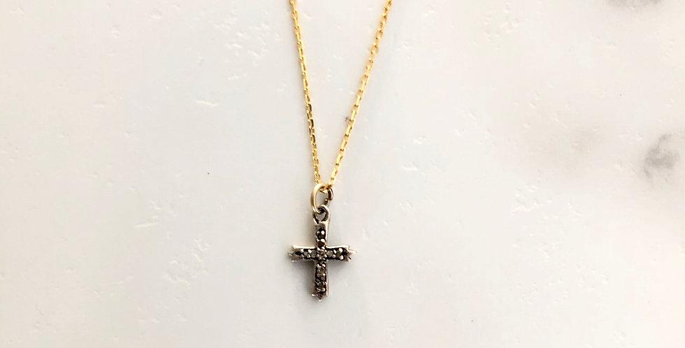 Cross Diamond Necklace