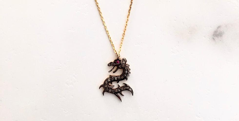 Dragon Diamond Necklace