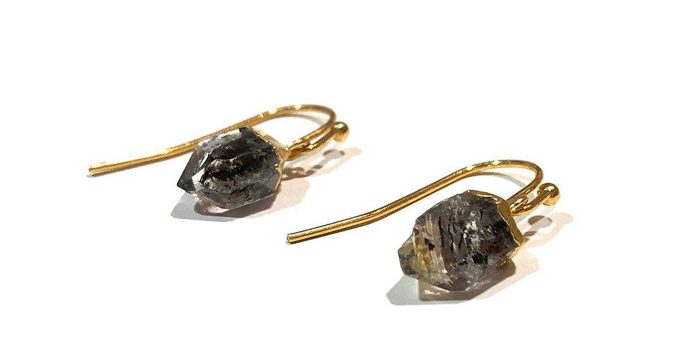 Dangle Stone Hook Earring