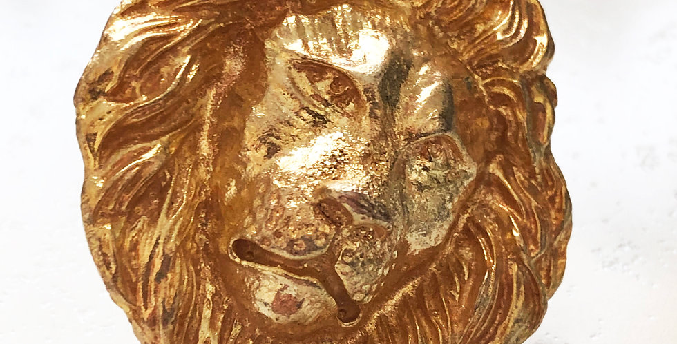 Big Lion Face Ring