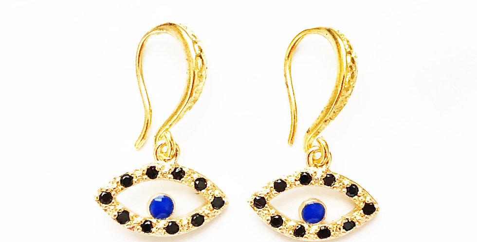 Oracle of Delphi Hook Earrings