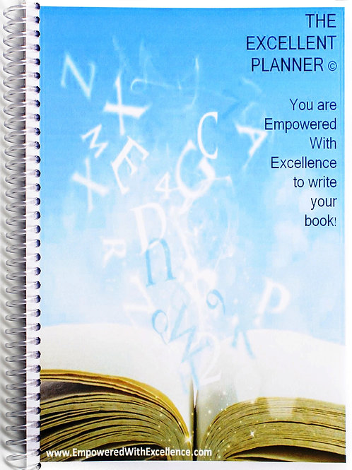 The Excellent Planner   Write Your Book