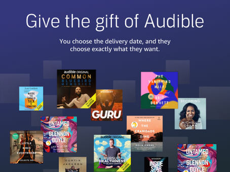 Give the gift of Audible for Christmas!