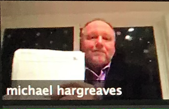 Hargreaves takes part in Windermere's Candidates Night via Zoom