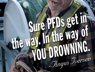 Wear a PFD.  Period.