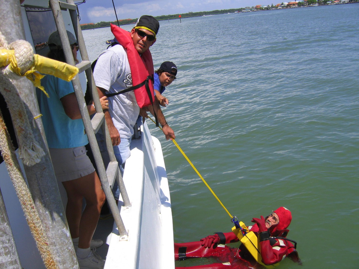 Practicing Man Overboard Recovery