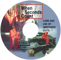 When Seconds Count: Care & Use of Immersion Suits