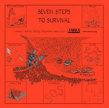 7 Steps to Survival Bandana