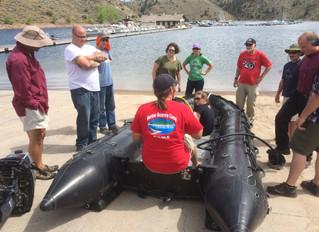 Ocean Search & Rescue Training for Antarctica Crew