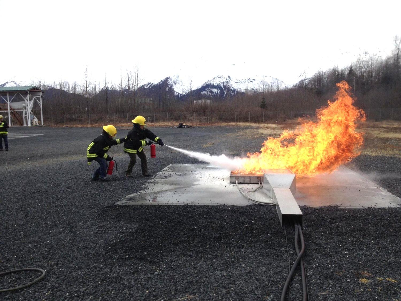 Firefighting Practice