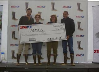 XTRATUF Donates $10,000 to AMSEA!