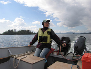Radio News Story Covers Recent Women's Recreational Boating Class