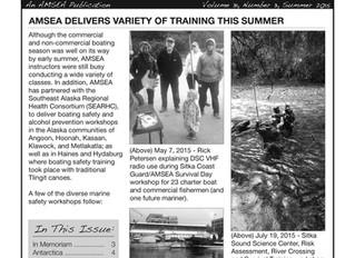 Hot off the Press: AMSEA's Summer Newsletter