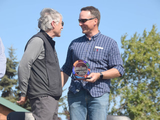 AMSEA Receives Award at Kenai's Industry Appreciation Day