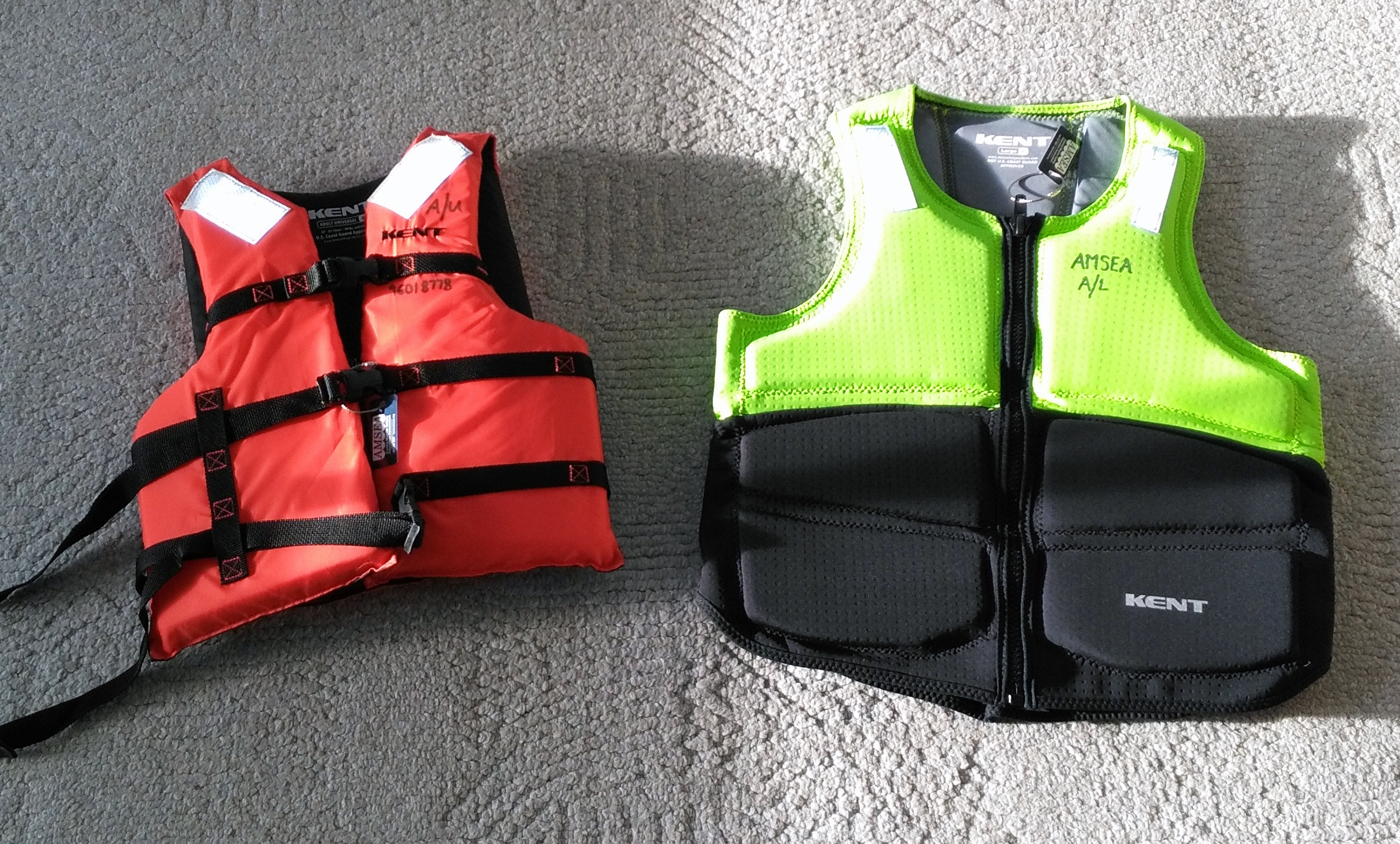 Type-III & Non-Approved Vest