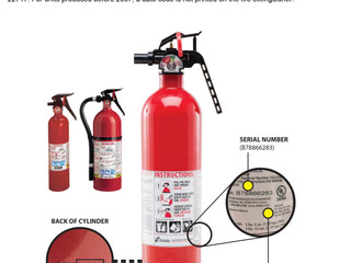Kidde Recalls Fire Extinguishers with Plastic Handles Due to Failure to Discharge and Nozzle Detachm