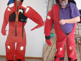 Your Immersion Suit: Don't Depend On Label Size For a Good Fit!
