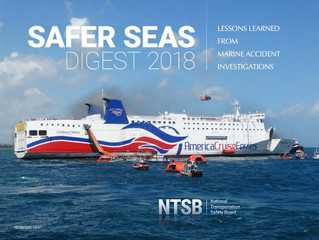 NTSB Releases Safer Seas Digest 2018