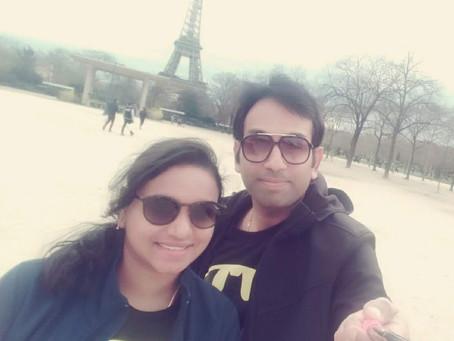 Our romantic trip - Paris