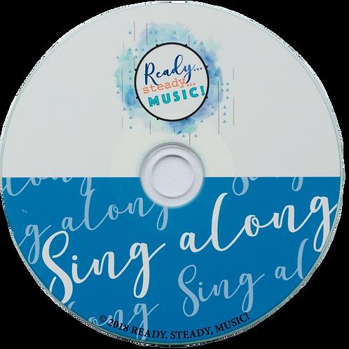 'Ready, Steady, Music!' Singalong CD