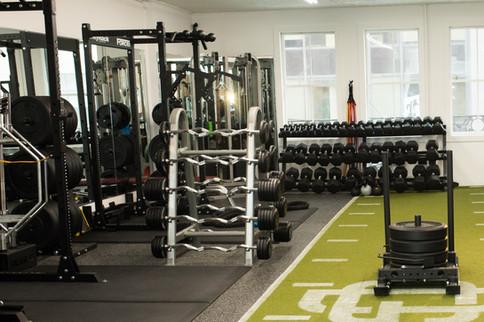 bars and gym