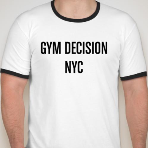 Men's Ringer T-shirt White / Black