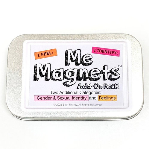 Me Magnets Add-On Pack: Gender & Sexual Identity and Feelings