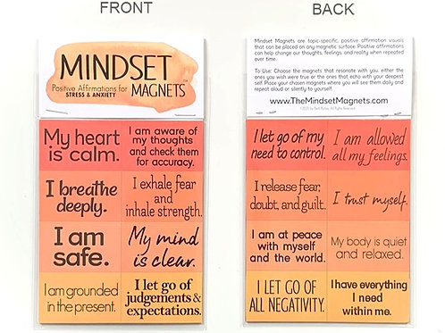 Mindset Magnets: Stress & Anxiety