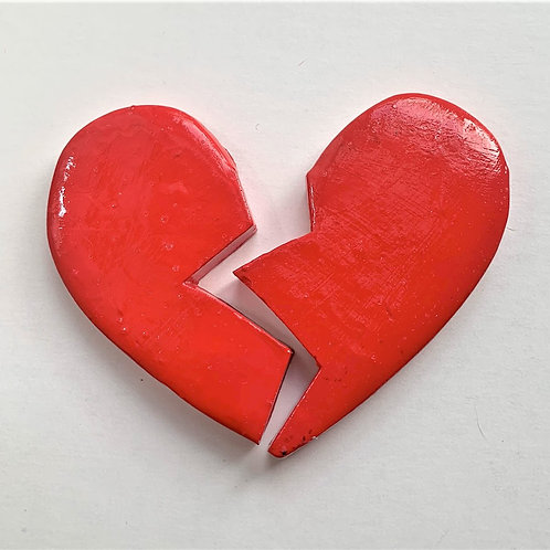 Large Heart-Broken