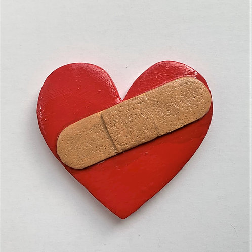 Large Heart-Band aid