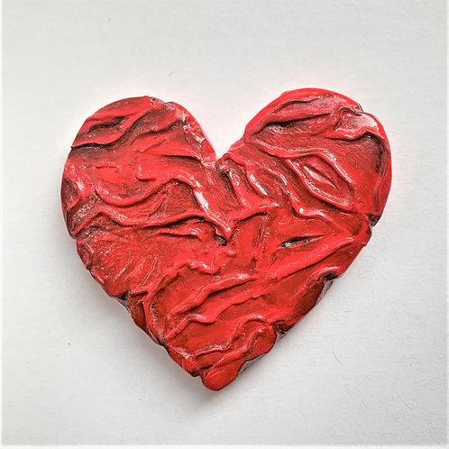 Large Heart- Shriveled