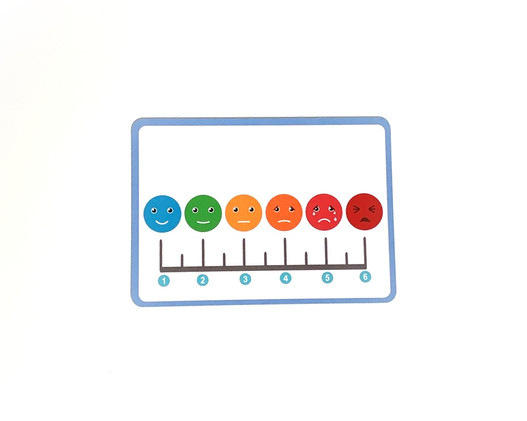 Rating Scale Card