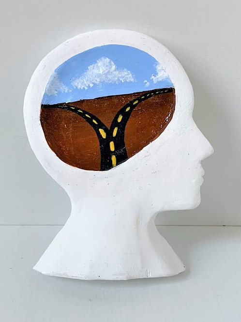 Diverted Paths Head- Small