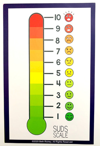 "SUDS Chart 8.5"" x 5.5"""