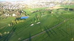 Vue aérienne du golf