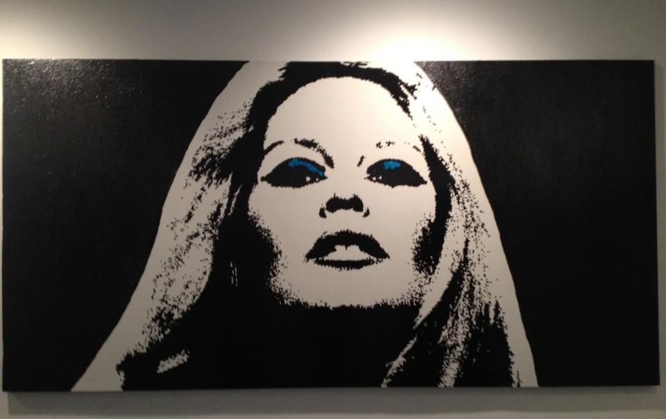 Brigitte on Black