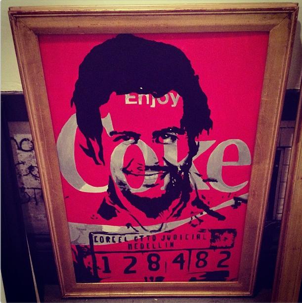 Enjoy Coke (Pablo Escobar)