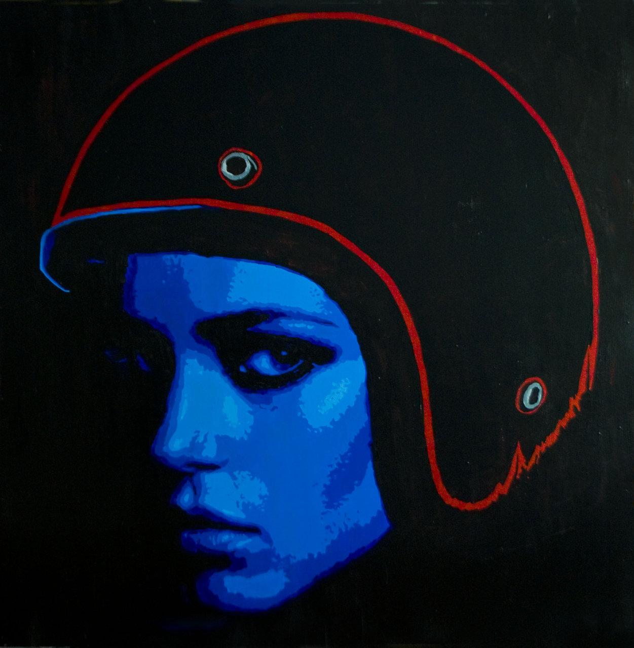 Helmet Girl No.2