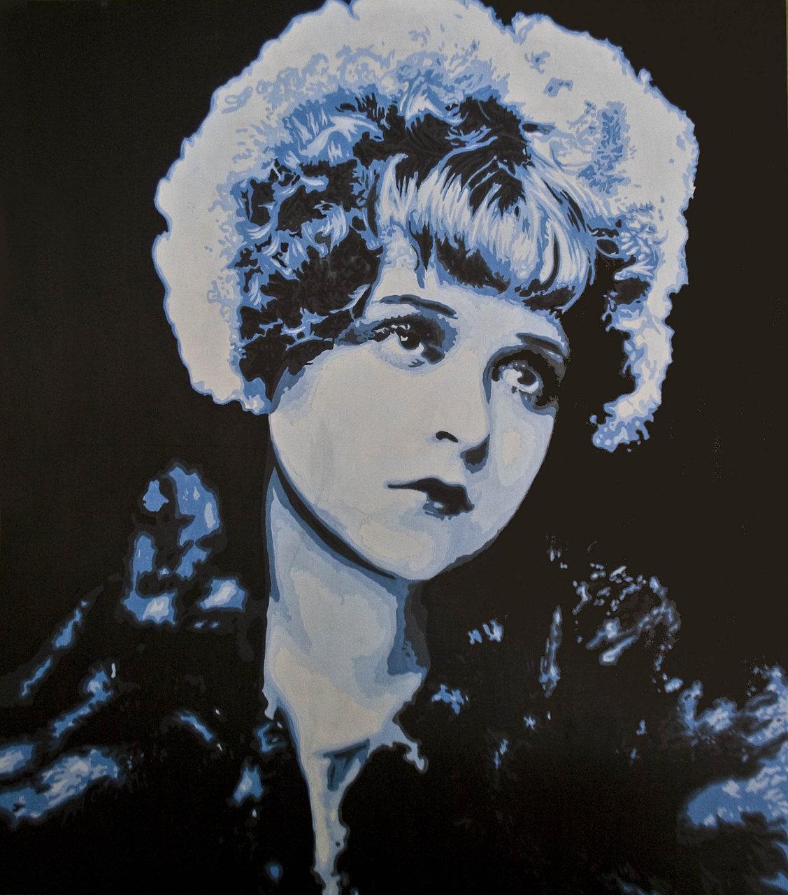 Clara Bowe Bust