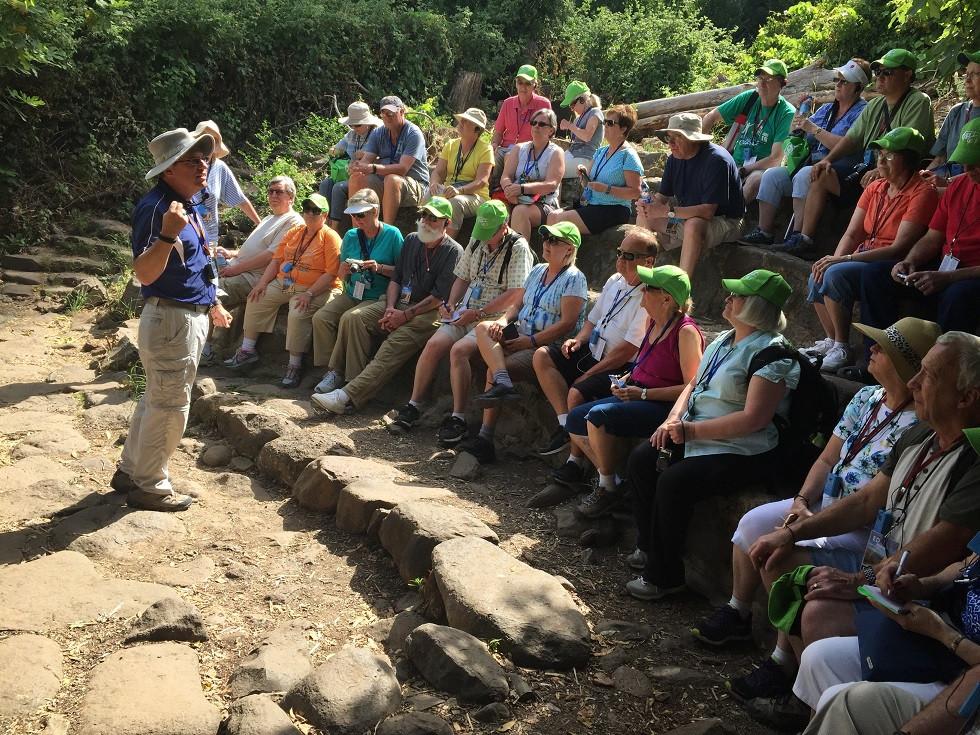 Tel Dan Nature Reserve hike