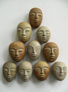 """""""10 Buddha Pebbles"""""""