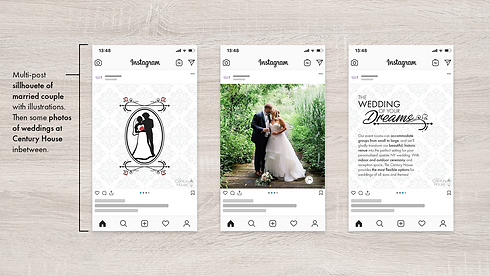 Campaign Mockup The Wedding of Your Drea