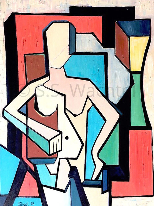 Nude Woman at Pose