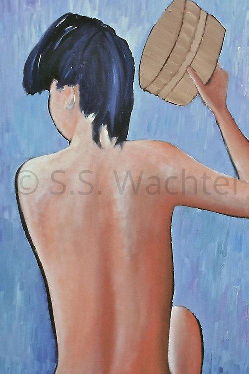 Girl at Bath