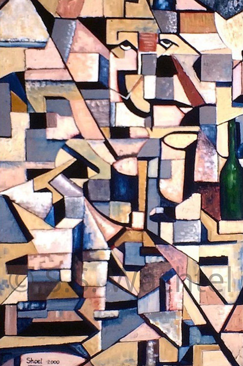 Man with a Wine Bottle