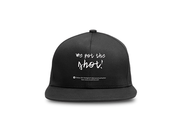 Black Fitted Cap