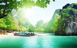 Thailand Beach Scenes