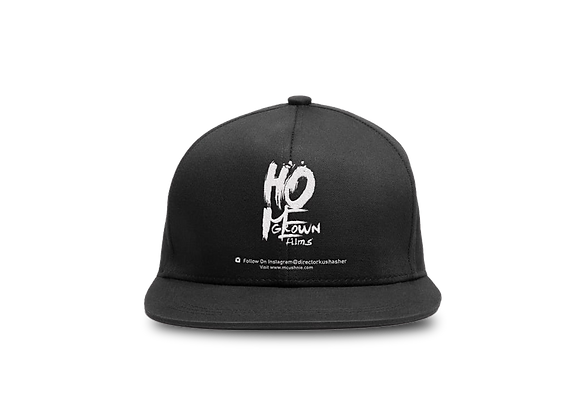 Black Fitted Cap HG