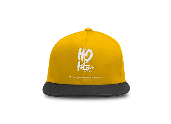 Yellow Fitted Cap